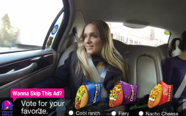 Skippable Ad - Taco Bell